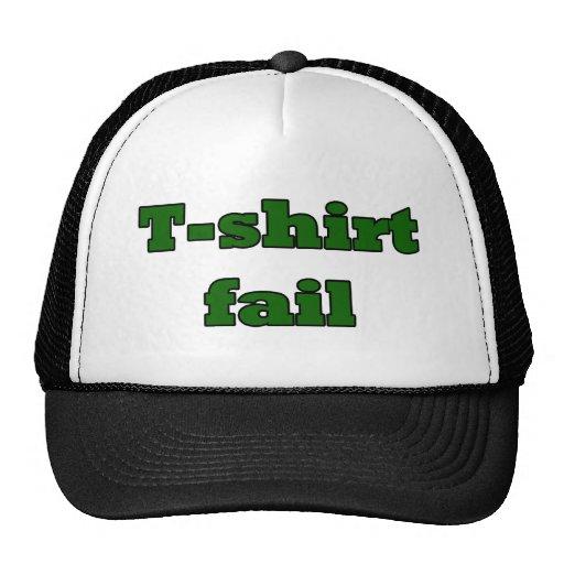 T-shirt fail mesh hat