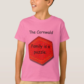 T-shirt - Family is a Puzzle.