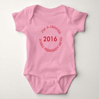 T-shirt - February 29 for Girl