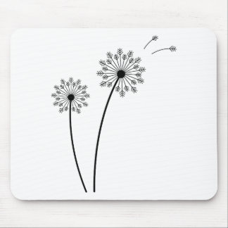 T Shirt Flowres Mouse Pad