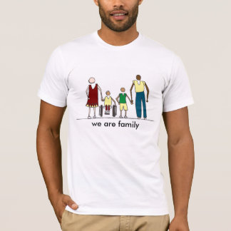 t-shirt for a non-traditional family