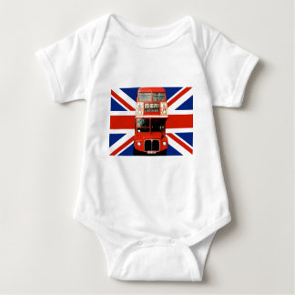 T-Shirt for Baby with London Bus