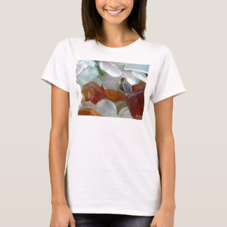 T-Shirt for her, with Sea Glass