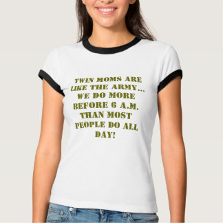 T-shirt for mom of twins