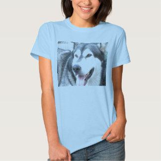 T-shirt for woman Alaskan Malamutte pet dog