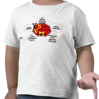 T-shirt-Front&Back_I Silence Media Violence©