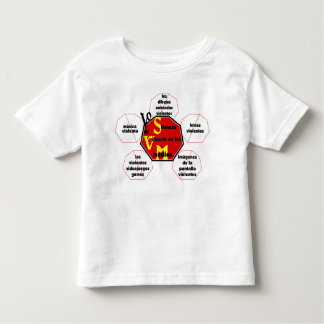 T-shirt-Front&Back_I Silence Media Violence© Tee Shirt