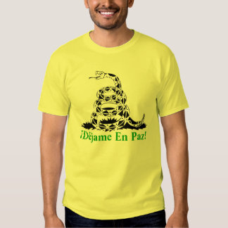 T-shirt Gadsden Serpent - M1 Leaves me Peacefully