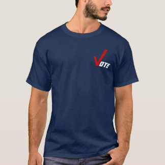 T-Shirt ~ Get Out The Vote Elections Voting Civics