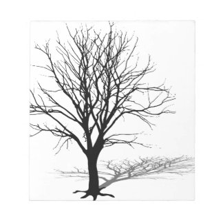 t-shirt gift tree silhouette winter shadow baum notepad