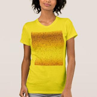 T-Shirt Glitter Graphic Gold