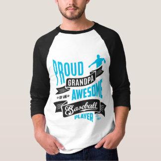 T-shirt Grandpa Awesome Baseball