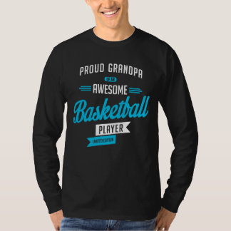T-shirt Grandpa Awesome Basketball