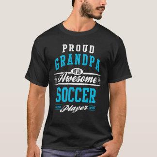 T-shirt Grandpa Awesome Soccer