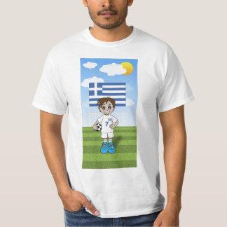 T-shirt Greece soccer