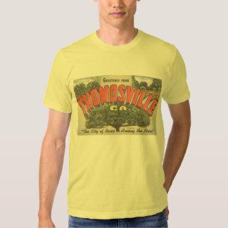 T Shirt_Greetings from Thomasville California CA T Shirt