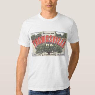 T Shirt_Greetings from Thomasville California CA Tee Shirt