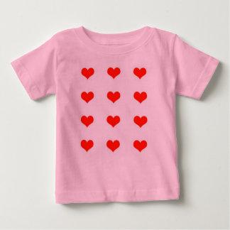T-shirt Hearts Girly 6-24 Months Kids