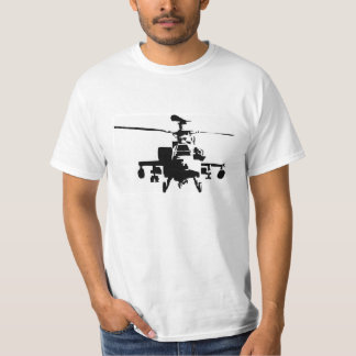 T-SHIRT HELICOPTER APACHE