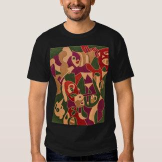 """T-shirt Hombre """"la señorita 6 """" Remera"""