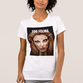 t-shirt I am felina