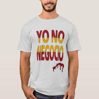 T-shirt I Do not negotiate