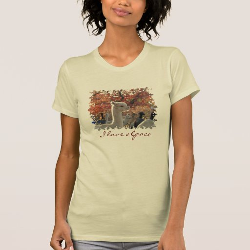 T-Shirt I Love Alpaca