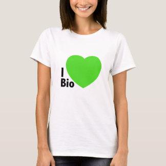 T-Shirt I love Bio