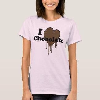 T-Shirt I Love Chocolate