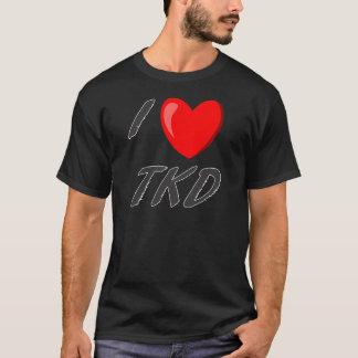 t-shirt I Love TKD