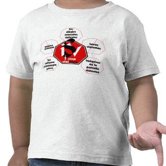 T-shirt-I Stop Media Violence©