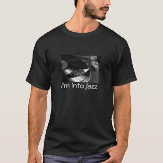 T-Shirt: I'm Into Jazz, With Vinyl Record T-Shirt