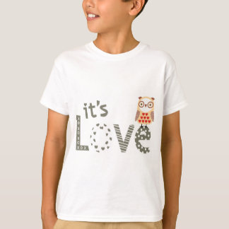 t-shirt image it's love