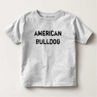 T-shirt infant/little kid American Bulldog
