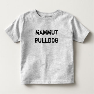T-shirt infant/little kid giant Bulldog
