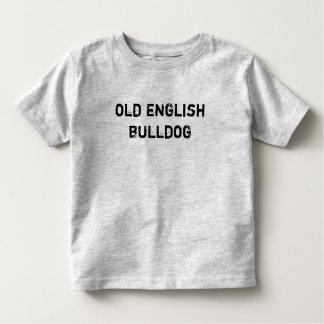 T-shirt infant/little kid old English Bulldog