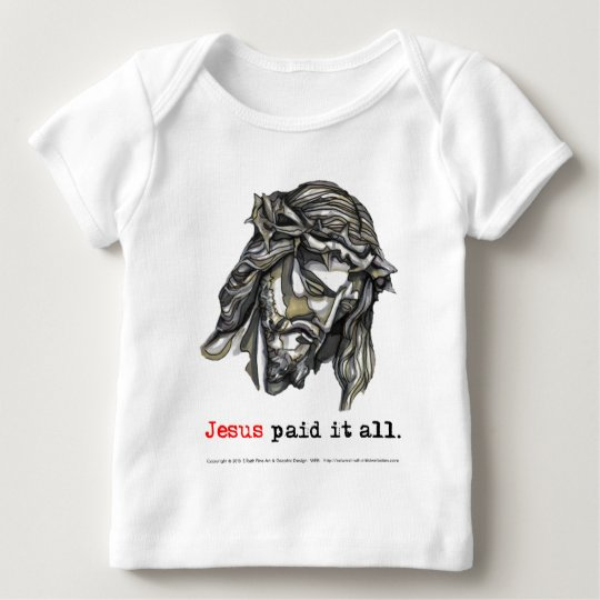 T-shirt Infant Long Sleeve Paid it all (Saviour 1)