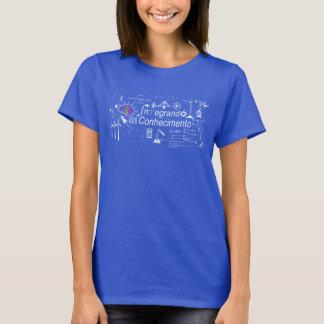 T-shirt Integrating Knowledge prints III