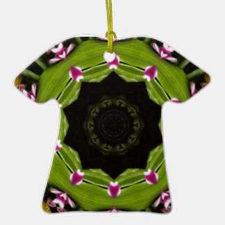 T-Shirt Kaleidoscope Christmas Ornament
