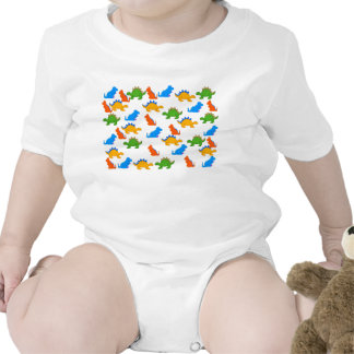 T-Shirt Kid's Baby Boys Dinosaur Collage Baby Bodysuit