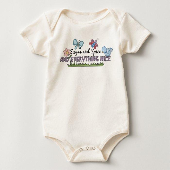 "T-Shirt Kid's Tots Baby ""Sugar Spice"" Girls"