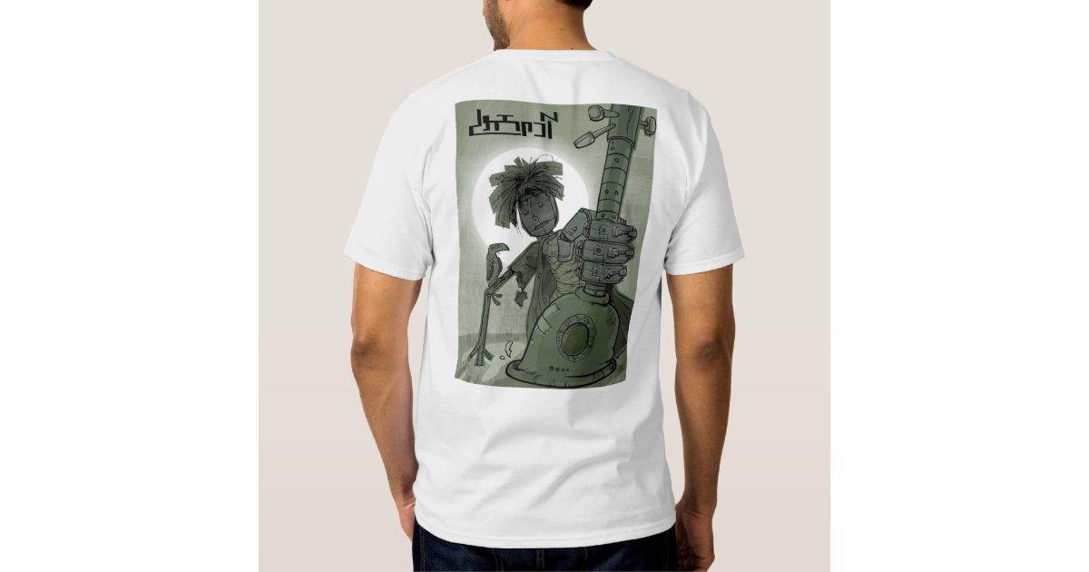 T shirt kiosk adameh mamooli back print t shirt zazzle for Vista print tee shirt