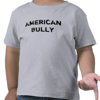 T-Shirt Kleinkind little kid American Bully