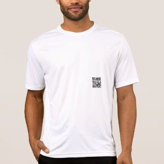 T-shirt (knows) with aileron code