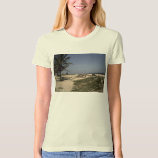 T-shirt landscape and poetry