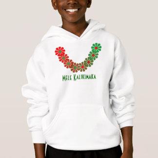 T-shirt Lei Mele Kalikimaka Merry Christmas Colors