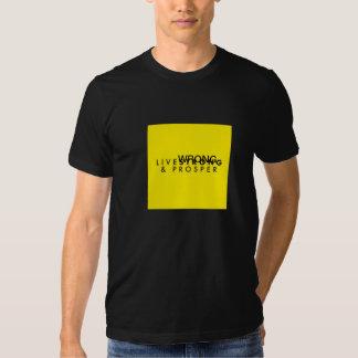 T-Shirt - Live Wrong