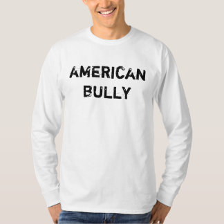 T-shirt long Mr. (signors) American Bully