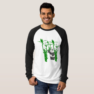 T-shirt long sleeve with drawing of bulging