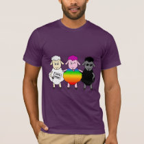 T-shirt Love Wins Sheeps